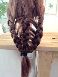 diving hairstyles diving triple braid dream braids pinterest