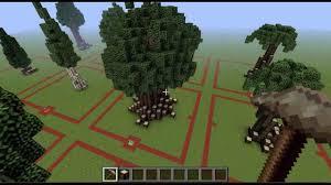 minecraft downloads custom trees update 1
