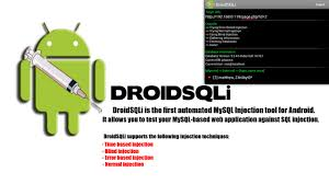 android sql hacking tools and tutorials droidsqli for android automated sql