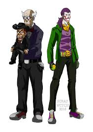 Halloween Witch Animated Dc Animated Movies The Ventriloquist And Jokester By Scrap Witch