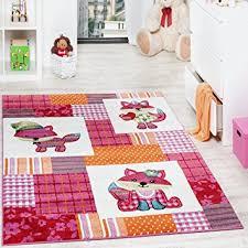 tapis chambre d enfants tapis chambre d enfant moderne motif renards à carreaux multicolore
