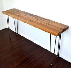 hairpin leg console table leftover pine diy hairpin leg console table hairpin legs console