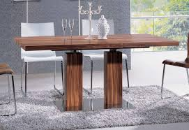 uncategories extendable glass top dining table large modern