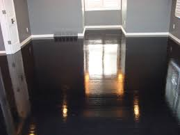 high gloss wood floors modern bedroom kansas city by