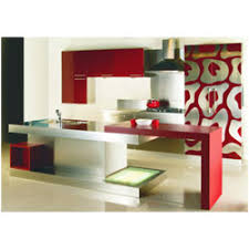 Modular Kitchen With Breakfast Table Gyan Overseas New Delhi - Breakfast table in kitchen