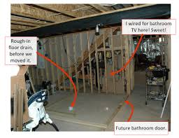 how to make a bathroom in the basement how to make a bathroom in the basement basements ideas
