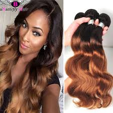 honey brown hair with blonde ombre 8a peruvian ombre weave dark roots blonde hair t1b 27 30 peruvian