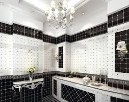 retro black and white tile bathroom brightpulse us