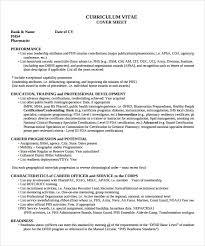 Pharmacy Resume Examples by 19 Standard Resume Format Sample Request Letter Cheque Book