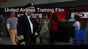 united airlines training film youtube