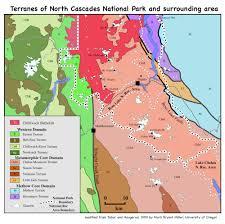 Chelan Washington Map geologic terrane map of north cascades national park washington