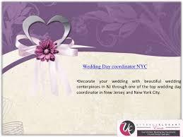Wedding Day Planner African American Wedding Planner Nj