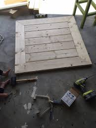 Plans For Wooden Coffee Table by Square Coffee Table W Planked Top Free Diy Plans