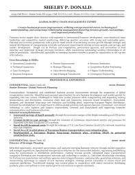 Retail Management Resume Examples And Samples by Supply Chain Resume Free Resume Example And Writing Download