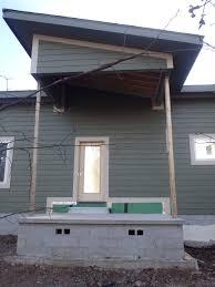 modern farmhouse rustic front porch posts design question