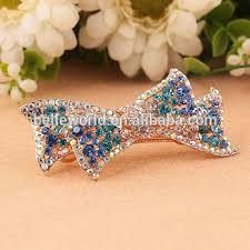 barrette hair clip fancy rhinestone barrette hair clip buy fashion