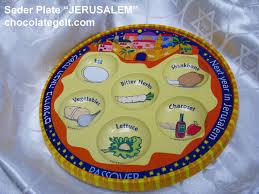 passover seder supplies plastic seder plate jerusalem pack of 10
