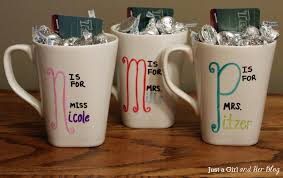 types of mugs diy teacher gift with free printable