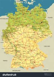 Map Of Switzerland And Germany by Download Map Of France And Germany With Cities Major Tourist