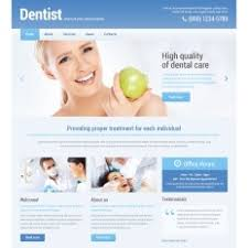 dentist psd template