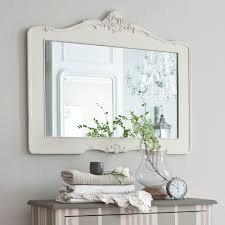 Bathroom Mirror Frames by Bathroom White Painted Oak Mirror Frame Classic Bathroom Vanity