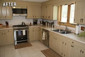 kitchen cabinet transformations rust oleum cabinet transformations review before and after