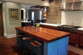 wood kitchen island top built up edges on wood countertops j aaron in wood kitchen island
