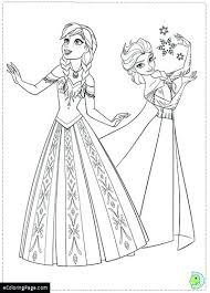anna frozen coloring page frozen 2 colouring pages princess and