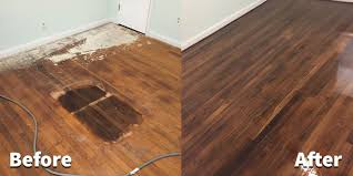Refinished Hardwood Floors Before And After Before After Hardwood Refinish Hardwood Flooring