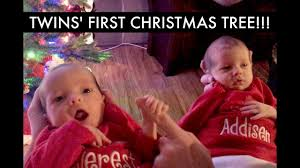 Twins First Christmas Ornament Day 10 Daily Vlog Life As New Dads With Twin Girls
