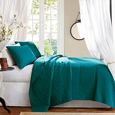 turquoise quilted coverlet best blue quilts and coverlets ease bedding with style