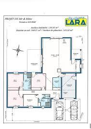 plan de maison de plain pied avec 4 chambres maison plain pied 4 chambres maison moderne avec soubise plain pied