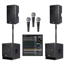 cerwin vega home theater cerwin vega church sound system with 2 p1500x loudspeakers and