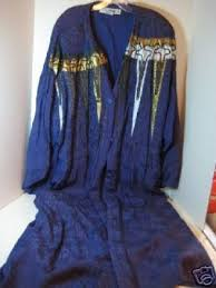 embroidered blue wizard robe costume halloween 42515935