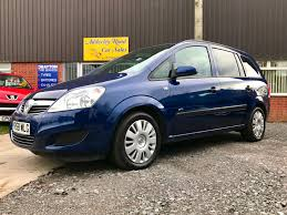vauxhall zafira 2008 used vauxhall zafira 2008 for sale motors co uk