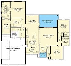 French Country Floor Plans Exclusive Charming French Country House Plan With Optional Bonus
