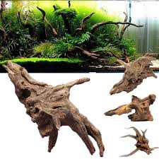 driftwood aquarium ornament stump cuckoo root tree trunk decor