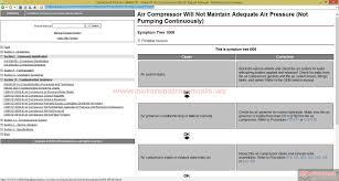 cummins holset air compressors master repair manual auto repair