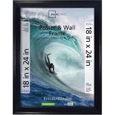 target black friday family collage frame mainstays 18x24 casual black poster frame walmart com