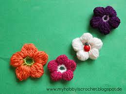 Tiny Flower Crochet Pattern - ravelry my hobby is crochet patterns