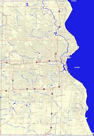 Wisconsin County Maps by Bridgehunter Com Milwaukee County Wisconsin