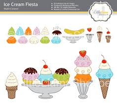 ice cream clipart ice cream clip art digital pngs from littlellamashoppe on