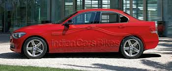 bmw one series india bmw confirms 1 series sedan for 2015 that will take on the audi