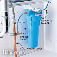 Sink Filtered Water Faucet Best Water Filter Family Handyman