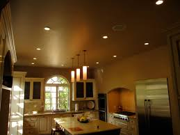 Kitchen Cabinet Led Downlights Kitchen Interior Best Recessed Led Lights Refrigerator Stove