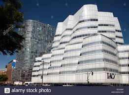modern buildings west side highway chelsea manhattan new york usa