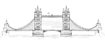 tower bridge london sketch collection stock illustration thinkstock