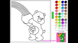 care bear coloring pages care bear coloring book