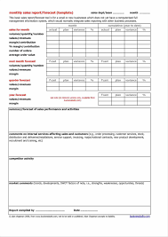 Sales Call Report Template Excel by Sales Call Report Template Excel Exltemplates