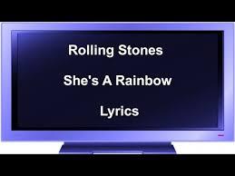 Blinded By Rainbows Lyrics Rolling Stones Rainbow Lyrics Free Download Mp3 5 79 Mb U2013 Top